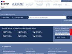 avis legifrance.gouv.fr
