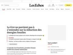 actualité du marché de l'immobilier sur m.lesechos.fr
