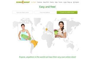 Kingeshop : Ouvrez votre boutique en ligne gratuitement