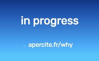Site internet de La Boîte à Couture réalisé par SITTI