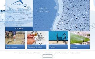 Site internet de la société Archymed réalisé par SITTI