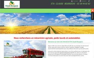 Site internet de Claude Bourgeois réalisé par le Groupe SITTI