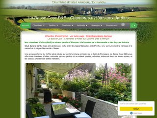 Chambres Normandie Sarthe B&B