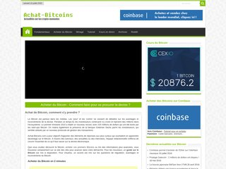 Acheter du Bitcoin sur internet