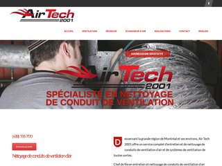 Nettoyage de conduits | Air tech 2001