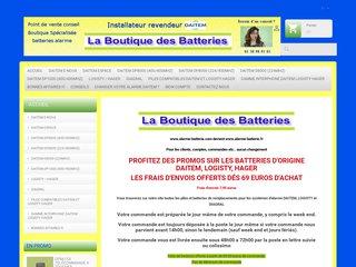 Détails : La Boutique des batteries