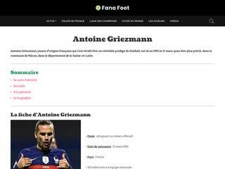 Détails : Antoine Griezmann
