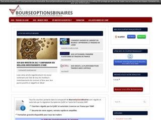 Détails : BourseOptionsBinaires - Comparateur, conseils trading