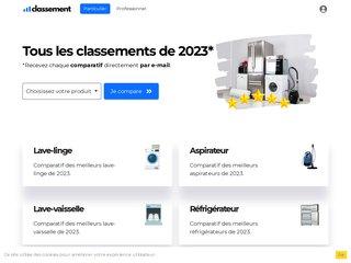 Détails : Classement des lave-vaisselles