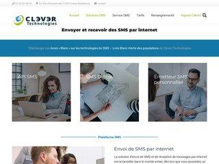 Détails : Envoi de SMS par internet - CleverSMS Light