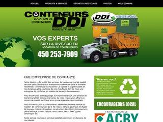Détails : Conteneur DDI | Location de conteneurs