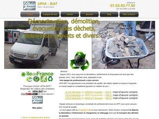 Détails : Upia Bat, enlèvement déchets industriels