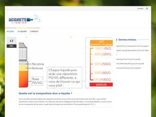 Détails : E-Cigarette-Liquide