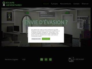 Détails : Escape Adventures - Un Live Escape Game à Angers