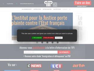 Détails : Institut pour la Justice