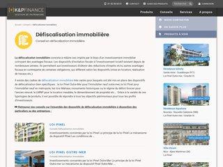 Défiscalisation immobilière - K&P Finance
