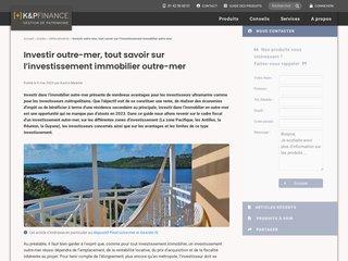 Détails : Loi Girardin et défiscalisation Outre-Mer
