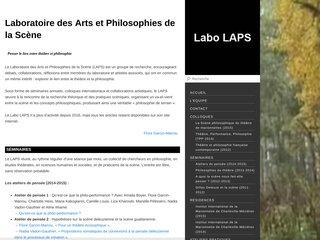 Théâtre et Philosophie (LAPS)