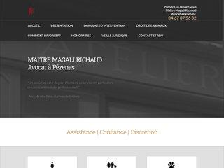 Magali Richaud avocat à Pezenas