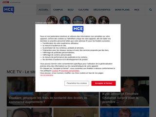Détails : MCE, La première chaîne de télévision étudiante !