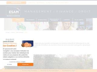 Détails : Ecole de management de Paris