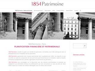Détails : 1854 Patrimoine