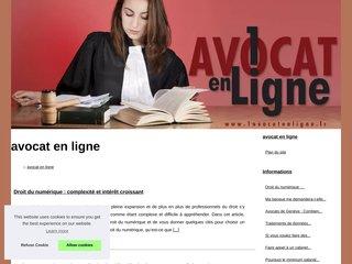 Détails : Votre avocat en ligne par téléphone
