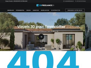 Détails : Infographiste 3D Architecture | Grégory Chevalier