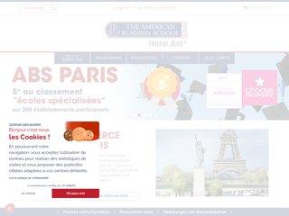 Détails : American business school