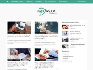 Détails : Actualité financiere