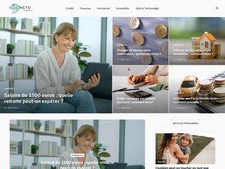 Détails : Actufinances, les actualités économiques et financières