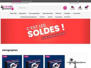 Détails : Aérographe Discount