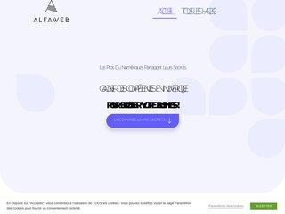 Détails : AlfaWeb : création site internet pro