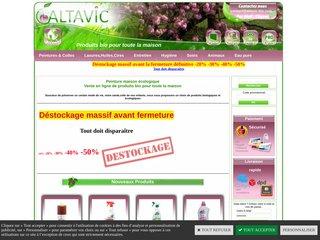 Détails : ALTAVIC-BIO: produits bio pour la maison
