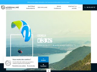 Détails : Adrénaline Parapente à Annecy