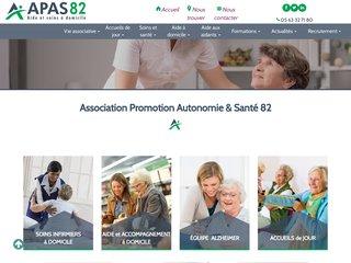 Détails : APAS 82 : association d'aide au maintien à domicile des personnes âgées