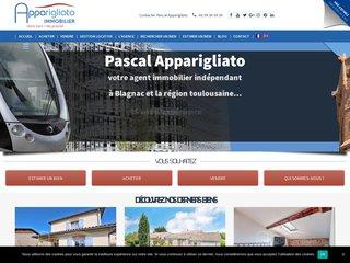 Agence immobiliere Apparigliato Immobilier Toulouse Blagnac