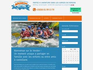 Détails : Rafting castellane