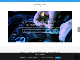 Détails : dépannage informatique, création et référencement de sites internet
