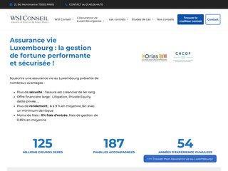Détails : Assurance Vie Luxembourg : Avantages