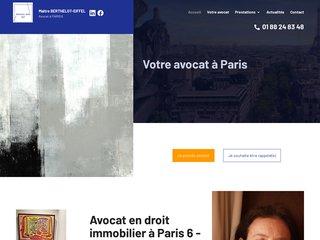 Cabinet avocat droit immobilier Paris 6 - Fonds de commerce