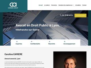 Me Camière: avocat responsabilité administrative Lyon