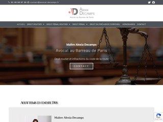 Détails : Avocat droit pénal routier Paris 16