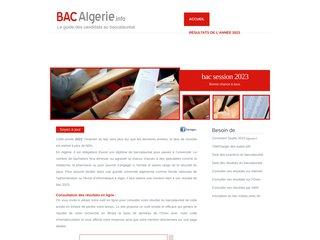 Détails : Site du baccalauréat en Algérie