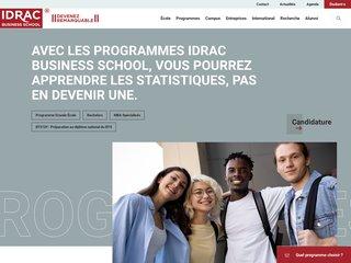 Détails : Bachelor IDRAC
