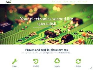 Bak2, vendre ses produits électroniques en ligne