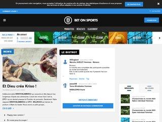 Détails : Rejoignez la communauté des pronostics gratuits avec Bet-on-sports