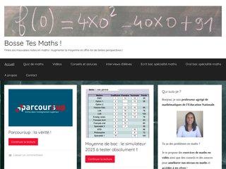 Détails : Cours et exercices de maths