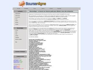 Détails : Bourse - www.boursenligne.fr