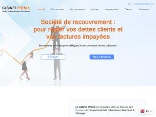 Recouvrement de créances de clients avec Cabinet Phenix
